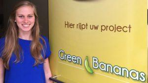 nieuwe collega bij green bananas