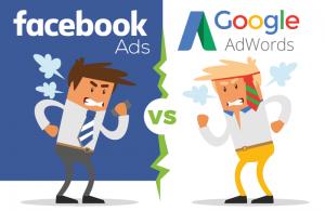 Verschil Facebook Ads - Google AdWords