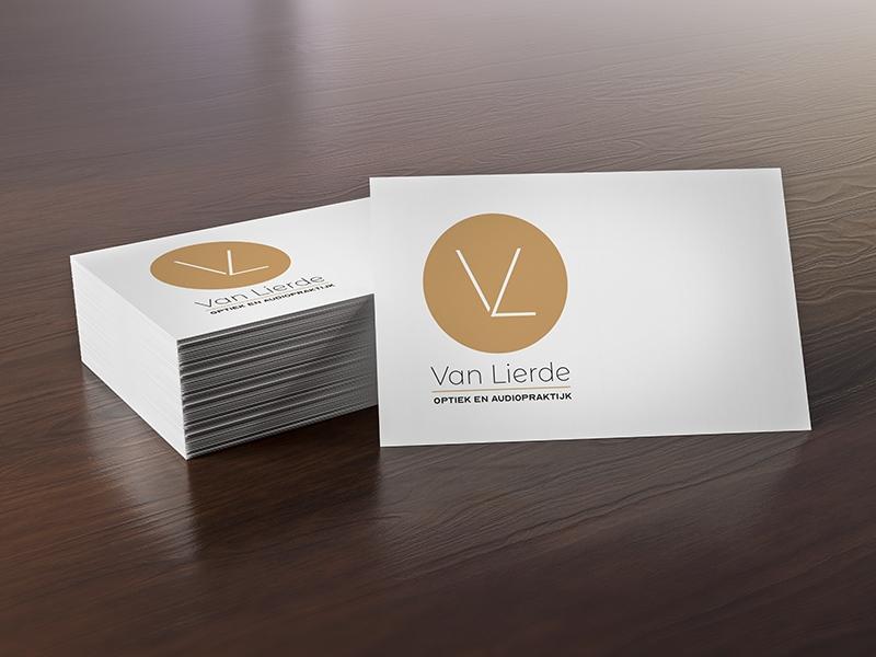 ontwerp visitekaartjes Van Lierde