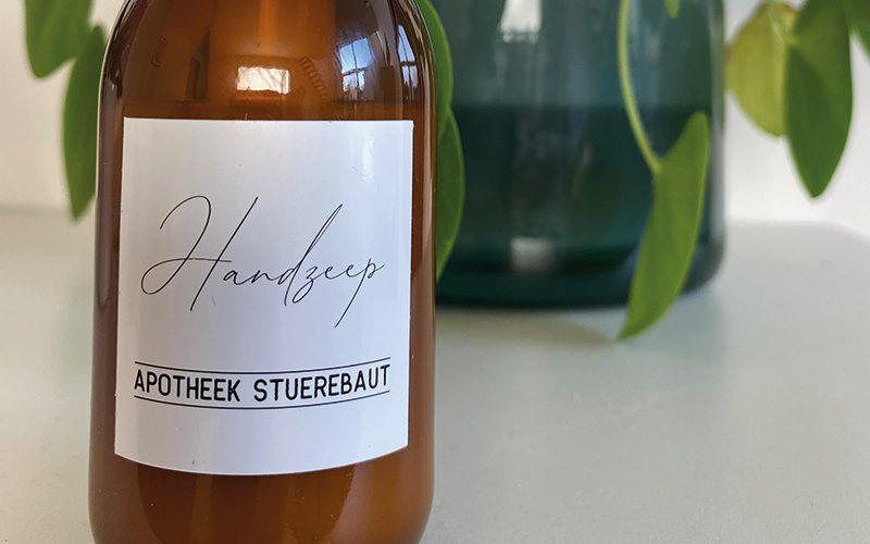 etiket apothekersfles