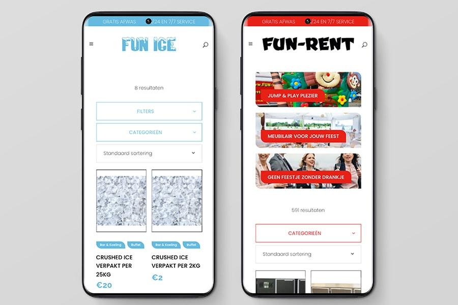 webshop fun rent