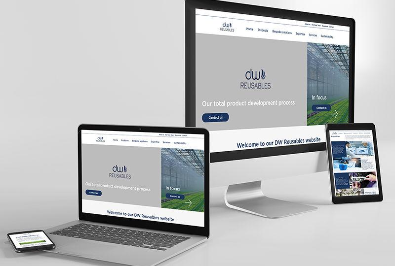 DW Reusables webdesign