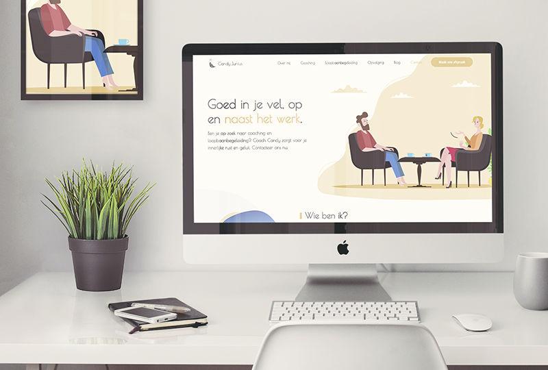 webdesign Goed in je vel